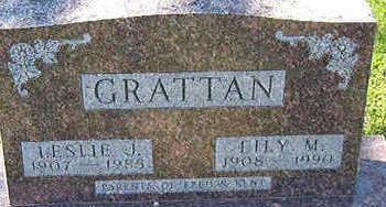 GRATTAN, LILY M. - Black Hawk County, Iowa | LILY M. GRATTAN