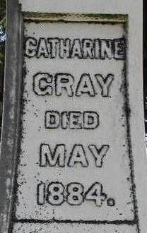 GRAY, CATHARINE - Black Hawk County, Iowa | CATHARINE GRAY
