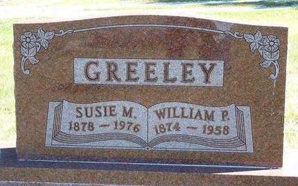 GREELEY, SUSIE MAY - Black Hawk County, Iowa | SUSIE MAY GREELEY