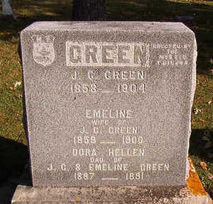 GREEN, J.G. - Black Hawk County, Iowa | J.G. GREEN