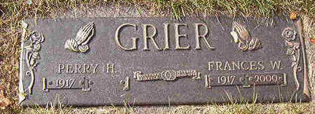 GRIER, FRANCES W. - Black Hawk County, Iowa | FRANCES W. GRIER