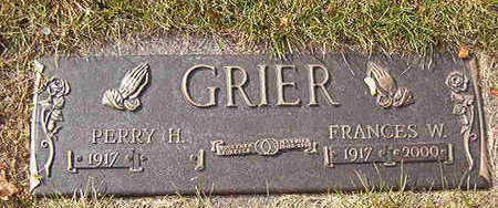 GRIER, PERRY H. - Black Hawk County, Iowa | PERRY H. GRIER