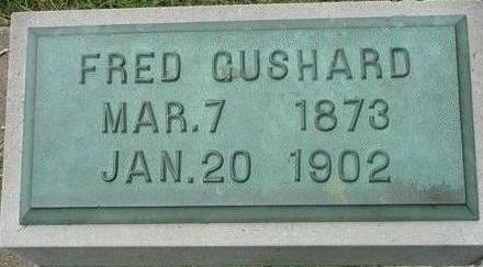 GUSHARD, FRED - Black Hawk County, Iowa | FRED GUSHARD