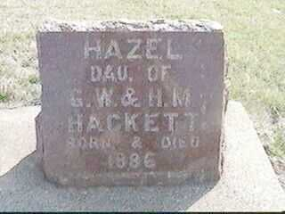 HACKETT, HAZEL - Black Hawk County, Iowa | HAZEL HACKETT