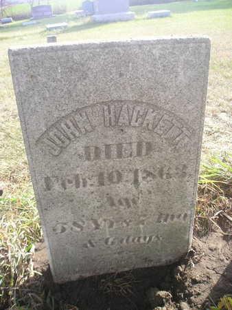 HACKETT, JOHN - Black Hawk County, Iowa   JOHN HACKETT