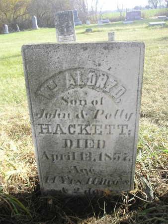 HACKETT, WM ALONZO - Black Hawk County, Iowa | WM ALONZO HACKETT