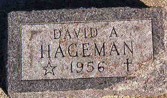 HAGEMAN, DAVID A. - Black Hawk County, Iowa | DAVID A. HAGEMAN