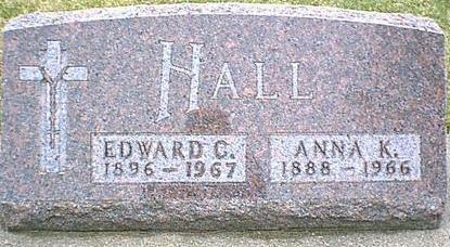 HALL, ANNA K - Black Hawk County, Iowa | ANNA K HALL