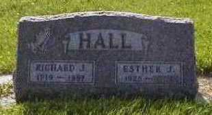 HALL, ESTHER J. - Black Hawk County, Iowa | ESTHER J. HALL