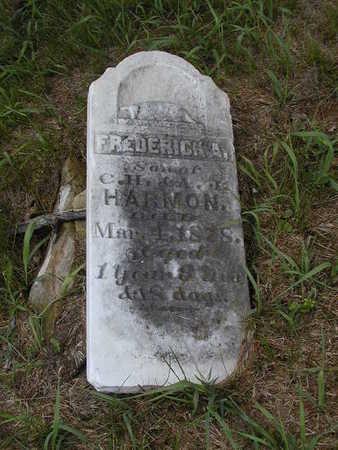 HARMON, FREDERICK A. - Black Hawk County, Iowa | FREDERICK A. HARMON