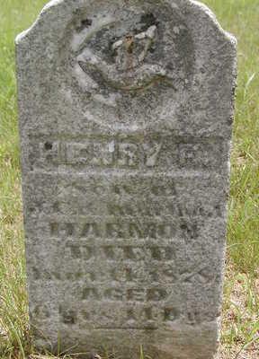 HARMON, HENRY F. - Black Hawk County, Iowa | HENRY F. HARMON