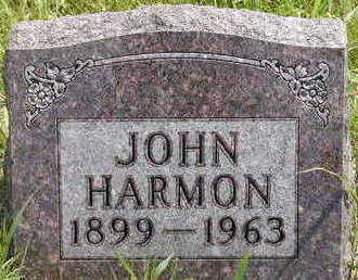 HARMON, JOHN - Black Hawk County, Iowa | JOHN HARMON