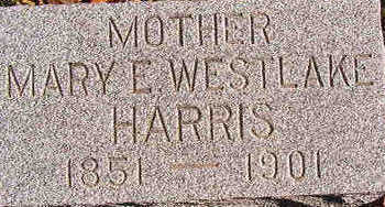 WESTLAKE HARRIS, MARY E. - Black Hawk County, Iowa | MARY E. WESTLAKE HARRIS