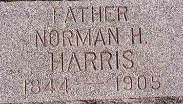 HARRIS, NORMAN H. - Black Hawk County, Iowa | NORMAN H. HARRIS