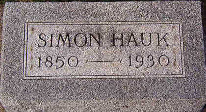 HAUK, SIMON - Black Hawk County, Iowa | SIMON HAUK