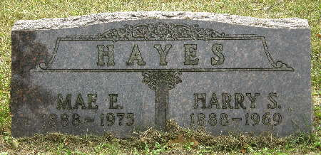 HAYES, HARRY S. - Black Hawk County, Iowa | HARRY S. HAYES