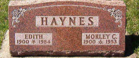 HAYNES, EDITH - Black Hawk County, Iowa | EDITH HAYNES