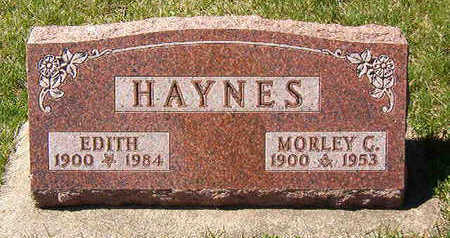 HAYNES, MORLEY C. - Black Hawk County, Iowa | MORLEY C. HAYNES