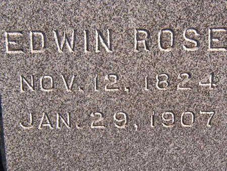 HEISZ, EDWIN ROSE - Black Hawk County, Iowa | EDWIN ROSE HEISZ
