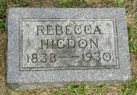 HIGDON, REBECCA - Black Hawk County, Iowa | REBECCA HIGDON