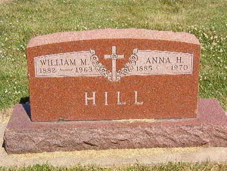 HILL, ANNA H. - Black Hawk County, Iowa | ANNA H. HILL