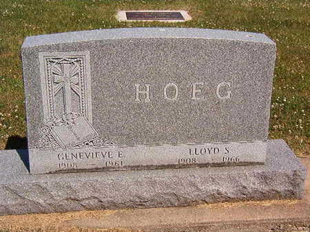 HOEG, LLOYD S. - Black Hawk County, Iowa | LLOYD S. HOEG
