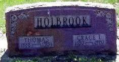 HOLBROOK, GRACE L. - Black Hawk County, Iowa | GRACE L. HOLBROOK