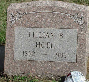 MOULTON HOEL, LILLIAN BELLE - Black Hawk County, Iowa | LILLIAN BELLE MOULTON HOEL