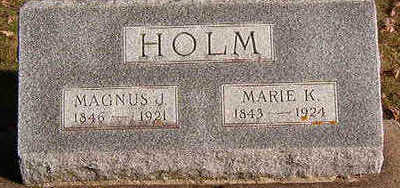 HOLM, MARIE K. - Black Hawk County, Iowa | MARIE K. HOLM