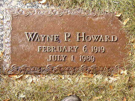 HOWARD, WAYNE P. - Black Hawk County, Iowa | WAYNE P. HOWARD