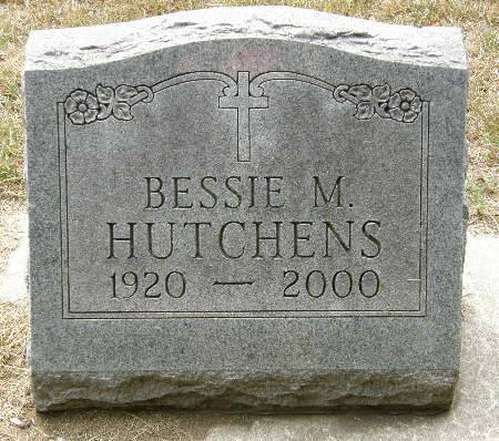 HUTCHENS, BESSIE M. - Black Hawk County, Iowa | BESSIE M. HUTCHENS