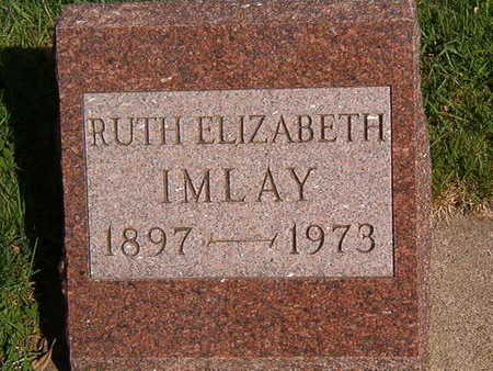 IMLAY, RUTH ELIZABETH - Black Hawk County, Iowa | RUTH ELIZABETH IMLAY