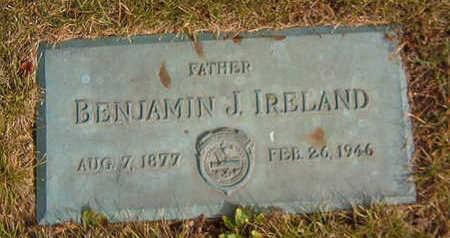 IRELAND, BENJAMIN J. - Black Hawk County, Iowa | BENJAMIN J. IRELAND