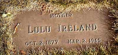 IRELAND, LULU - Black Hawk County, Iowa | LULU IRELAND