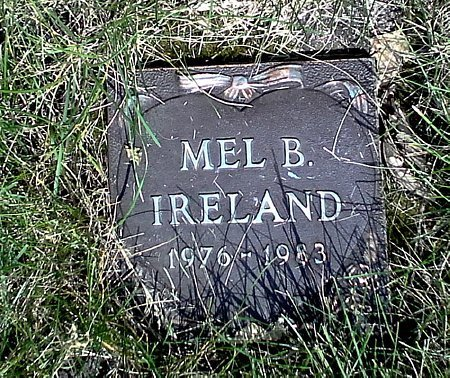 IRELAND, MEL B. - Black Hawk County, Iowa | MEL B. IRELAND
