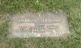 JERMANN, AMBROSE - Black Hawk County, Iowa | AMBROSE JERMANN