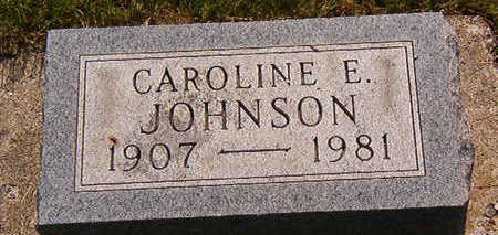 JOHNSON, CAROLINE E. - Black Hawk County, Iowa | CAROLINE E. JOHNSON