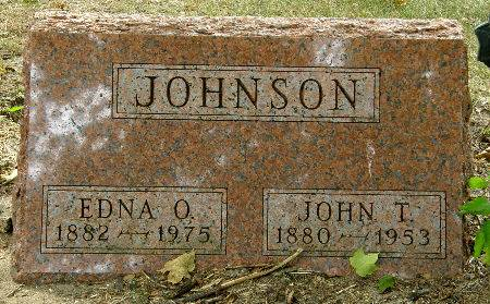 JOHNSON, EDNA O. - Black Hawk County, Iowa | EDNA O. JOHNSON