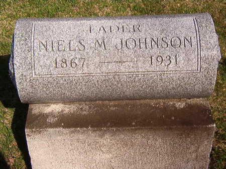 JOHNSON, NEILS M. - Black Hawk County, Iowa   NEILS M. JOHNSON