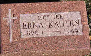KAUTEN, ERNA - Black Hawk County, Iowa | ERNA KAUTEN