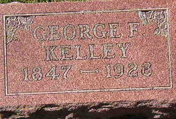 KELLEY, GEORGE F. - Black Hawk County, Iowa | GEORGE F. KELLEY