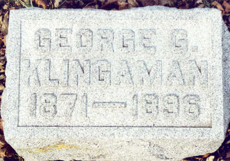 KLINGAMAN, GEORGE G. - Black Hawk County, Iowa | GEORGE G. KLINGAMAN