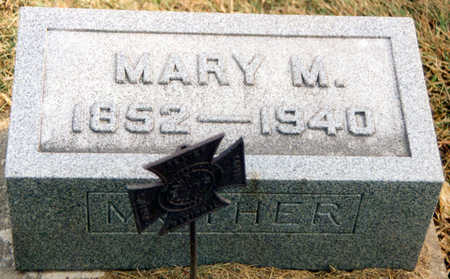 CAIN KLINGAMAN, MARY MARTHA - Black Hawk County, Iowa | MARY MARTHA CAIN KLINGAMAN