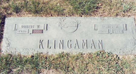KLINGAMAN, ROBERT W. - Black Hawk County, Iowa | ROBERT W. KLINGAMAN