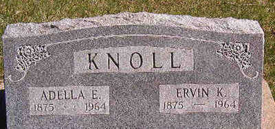 KNOLL, ERVIN K. - Black Hawk County, Iowa | ERVIN K. KNOLL