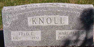 KNOLL, MARGARET B. - Black Hawk County, Iowa | MARGARET B. KNOLL