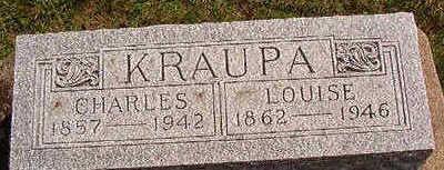 KRAUPA, CHARLES - Black Hawk County, Iowa | CHARLES KRAUPA