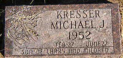 KRESSER, MICHAEL J. - Black Hawk County, Iowa | MICHAEL J. KRESSER