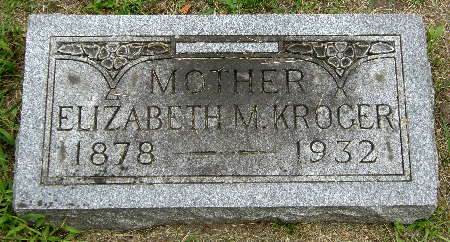 KROGER, ELIZABETH M. - Black Hawk County, Iowa | ELIZABETH M. KROGER