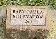 KULEVATOW, PAULA - Black Hawk County, Iowa | PAULA KULEVATOW
